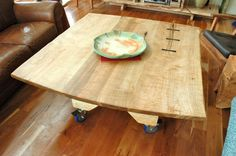 Furnitures, Unique Coffee Tables With Attractive : 45 Unique Coffee Tables With Modern Wood Accent Furniture at glaeve.com Picture Inspiration