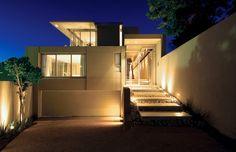 simple frontage modern minimalist house design