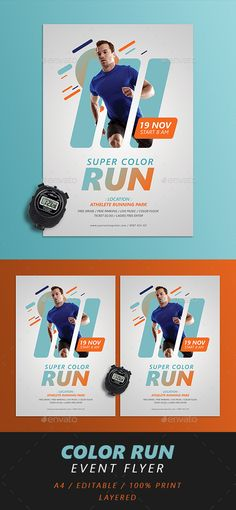 Run Fest Flyer  — PSD Template • Download ➝ https://graphicriver.net/item/run-fest-flyer/18192916?ref=pxcr