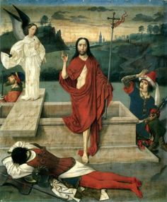 """Jesus Resurrected. BIBLE SCRIPTURE: Matthew 28:11, """"Now when they were going, behold, some of the watch came into the city, and shewed unto the chief priests all the things that were done."""""""