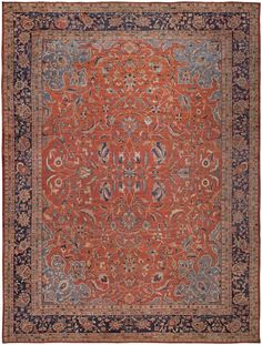 Persian Sultanabad Rug - Antique Persian Rug - Antique Rug - BB4924 by Doris Leslie Blau