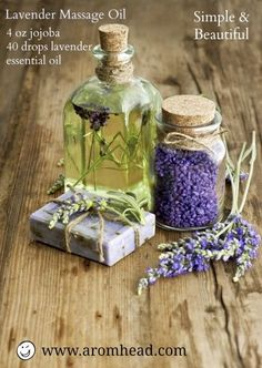 3 Great Recipes for Lavender - Even after all these years, and having a huge collection of essential oils, I find myself reaching for the Lavender regularly. I use it for the daily stuffa burn, a cut, a bath or a caterpillar sting (not kidding!). I also