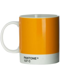 Pantone Mug satsuma Pantone Color, Mugs, Colors, Tableware, Products, Decor, Decoration, Dinnerware, Decorating