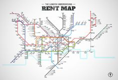Nice and easy guide into the average of cost per month to rent a one bedroom apartment  in London