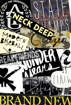 State Champs - Neck Deep - Citizen - Modern Baseball - Real Friends - The Wonder Years - Man Overboard - Fireworks - Brand New