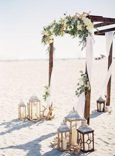 20 Stunning Beach Wedding Ceremony Ideas-Backdrops, Arches and Aisles - EmmaLove. 20 Stunning Beach Wedding Ceremony Ideas-Backdrops, Arches and Aisles - EmmaLove. 20 Stunning Beach Wedding Ceremony I. Wedding Ceremony Ideas, Beach Wedding Arbors, Beach Ceremony, Wedding On The Beach, Wedding Aisles, Beach Wedding Flowers, Fall Wedding, Beach Wedding Ceremonies, Trendy Wedding