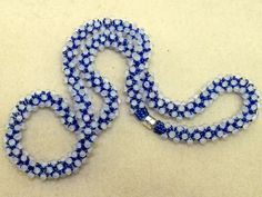 Electrified - Chenille Stitch - Size 11 seed beads and fringe beads
