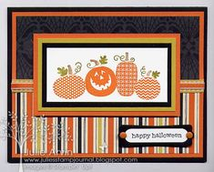 Halloween Happiness by Julie Bug - Cards and Paper Crafts at Splitcoaststampers