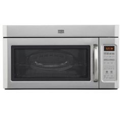 Maytag 2.0 cu. ft. Over the Range Microwave in Stainless Steel with Sensor Cooking-MMV5208WS at The Home Depot