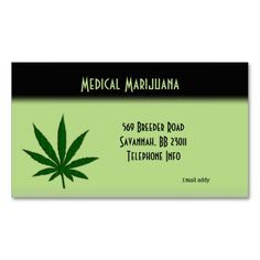 """Weed business cards.  You might decide to add your saying. Number one dispenser of Medical Marijuana ....., or something similar  2"""" x 3.5"""" – Classic Business Card Choose from eight types of premium card stock."""