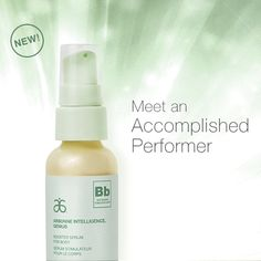 Arbonne Intelligence® Genius Booster Serum for Body - This lightweight, concentrated serum absorbs quickly to hydrate, illuminate and improve the look of skin firmness. Add a few drops to your favorite body moisturizer to boost benefits or use this luxurious serum by itself to enhance skin's natural radiance.