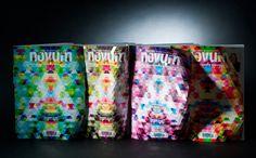 Novum magazine cover Inspired By Bucky Fuller Highlights The Feel Of Paper | Co.Design | business + design