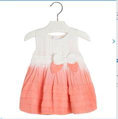 dip dye woven dress