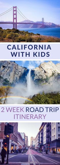 A 2 week road trip in California with kids. Learn how and where to go with a vegetarian/vegan family. Discover San Francisco, Lake Tahoe, Yosemite National Park, Los Angeles, Hollywood, and more!  Explore specific locations and landmarks such as the Pacific Coastal Highway, Golden Gate Bridge,  Bay Area, Land's End, Emerald Bay, Glacier Point, Tuolumne Meadows, Bridalveil Fall, Hollywood, Disneyland, Venice Beach, and the Griffith Observatory,