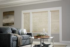 Graber Blinds Sheer Shades with Continuous-Loop Lift: Roslin, Sandstone 7245