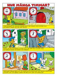 Klockan – Bamse.se
