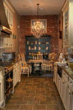 Rustic Design Galley Kitchen Floor Plans : Floor Ideas for Galley Kitchen Floor Plans – Better Home and Garden