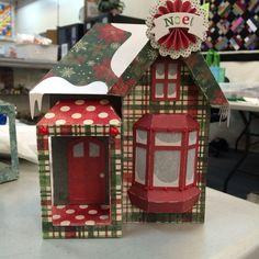 Christmas version of Snowy house box