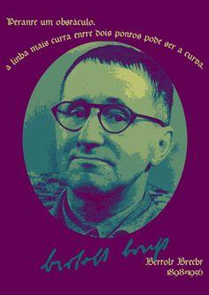 File:Perante um obstáculo, a linha mais curta entre dois pontos pode ser a curva. Bertolt Brecht, 1898-1956 -pt.svg