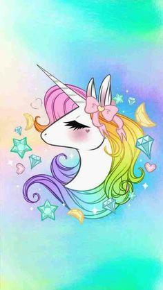 Ideas for wallpaper unicorn pictures Unicorn Drawing, Unicorn Art, Magical Unicorn, Rainbow Unicorn, Unicorn Humor, Unicorn Painting, Unicornios Wallpaper, Kawaii Wallpaper, Tumblr Wallpaper