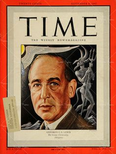 C.S. Lewis on the cover of Time 1947   Can i have a copy of this?:,)