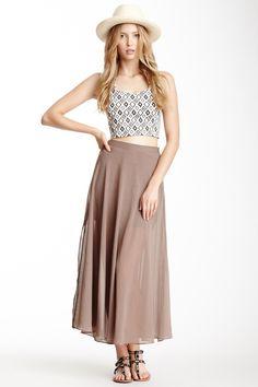 BLVD | BLVD Flared Skirt | Nordstrom Rack
