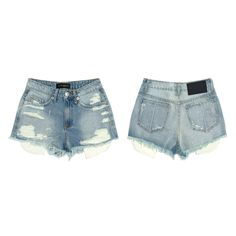 womens // denim Daniel Patrick, Dream Life, Denim Shorts, Collection, Fashion, Moda, La Mode, Fasion, Jean Shorts