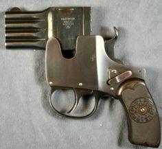 This is an old gun, but also really weird gun.