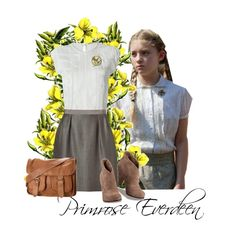 primrose everdeen created by stude1nm on polyvore - Primrose Everdeen Halloween Costume