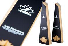 hockey canada hall of fame trophies eco modern custom