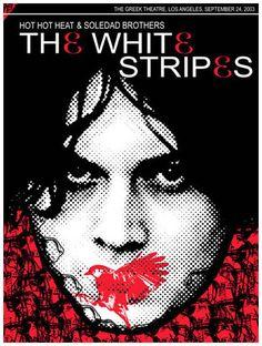 Rob Jones, White Stripes LA, 2003
