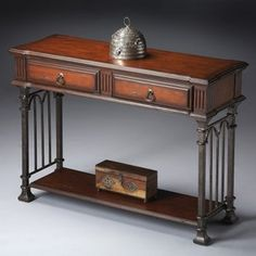 Butler Console Table 31.75H in. - Metalworks