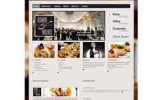 Responsive Website Design for Dublin's leading contemporary catering company.