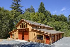 House Plan Pole Barns Homes | facility is a horse owner's dream. Luxurious and spacious, the barn ...
