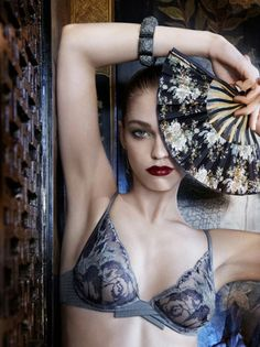 La Perla FW2012 lingerie  photos by Mary Rozzi