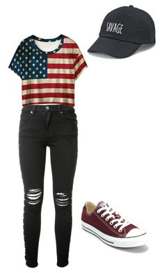 """""""Josie"""" by mermaid04 on Polyvore featuring AMIRI, WithChic, Converse and SO"""