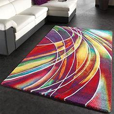 Tapis Moderne Mélange Multicolore, Dimension:160x230 cm: Amazon.fr: Cuisine & Maison