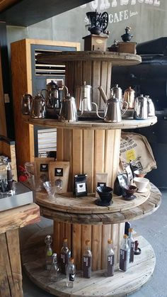 25+ Best Ideas about Cafe Display on Pinterest | Wood cafe, Diy bakery display and Cafe counter