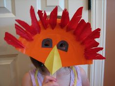 Ramblings of a Crazy Woman: Paper Plate Animal Masks Turkey! Preschool Halloween Party, Fun Halloween Games, Halloween Crafts, Halloween Masks, Crafts For Kids, Arts And Crafts, Paper Crafts, Paper Plate Animal Masks, Origami Paper Art