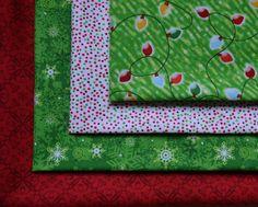 Christmas Fabric Fat Quarter Fabric Bundle 4 by ChristmasJul