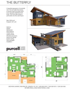 The ridgeline model from the renew collection by deltec for Netzero home plans