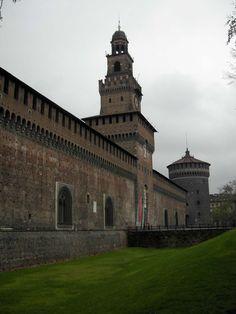 Milan - Castello Sforzesco
