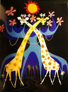 vintage illustration by Mary Blair