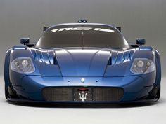 Maserati MC12 in blue #maserati #mc12 www.yours-cars.eu/MASERATI/Maserati.htm