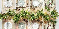 Thanksgiving Table Settings - Thanksgiving Tablescapes Decoration Ideas
