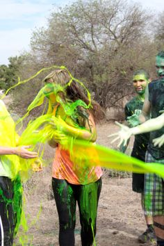 This 5k run challenge is full of obstacles and slime zones!  Work toward your fitness goals and register today!  www.TheSlimeRun.com