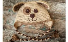 Com trancinhas, uma touca de ursinho é um acessório fofo (Pinterest/Angie McAnally)