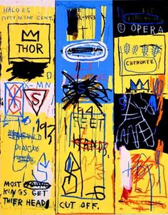Jean Michel Basquiat. Charles the First, 1982,
