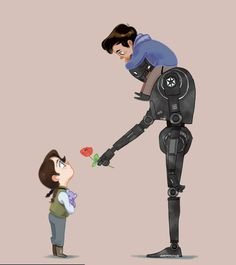 Kid!Jyn meets Kid!Cassian