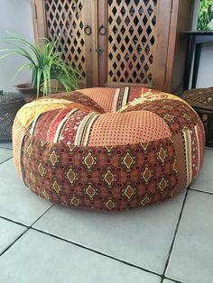 Unfilled Medium Bali Boho Floor Cushion Cover, Made in Australia ...